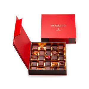 Scatola cioccolatini assortiti 25 pezzi